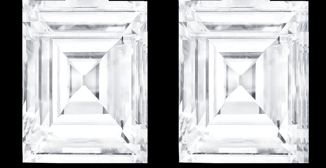 Carre cut Diamond
