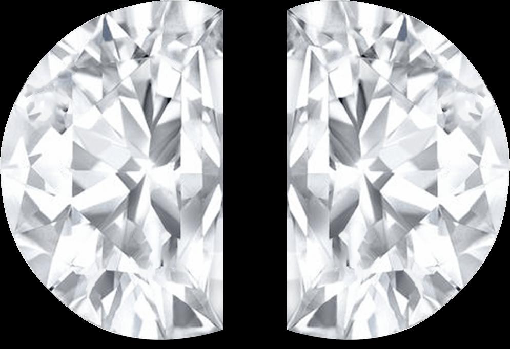 Half Moon Brilliant Cut Diamond- Dharam Export India Surat