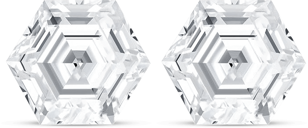 Hexagon Step Diamond- Customize diamond