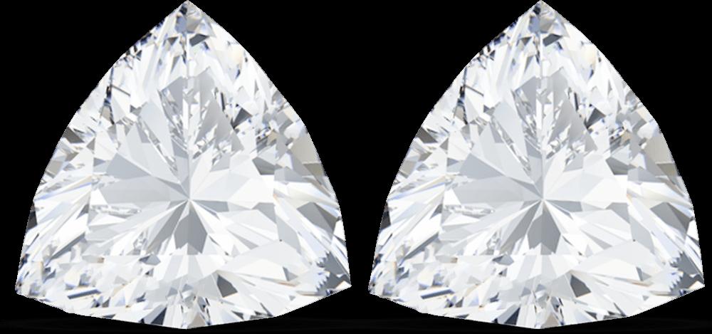 Trilliant Shape Cut Diamond manufacturer in India